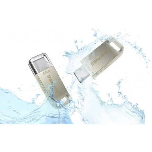 Фото Накопитель Transcend Type-C 850 64GB USB 3.1 Metal (TS64GJF850S)