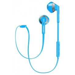 Фото Наушники Philips SHB5250BL Mic Wireless Blue