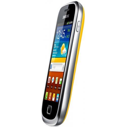 Фото Смартфон Samsung Galaxy Mini 2 S6500 Yellow