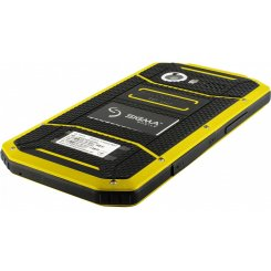 Фото Смартфон Sigma mobile Х-treme PQ31 Black-Yellow