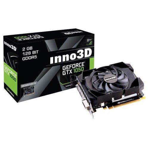 Фото Видеокарта Inno3D GeForce GTX 1050 Compact 2048MB (N1050-1SDV-E5CM)