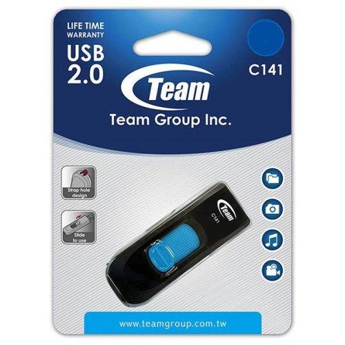 Фото Накопитель Team C141 4GB USB 2.0 Blue (TC1414GL01)