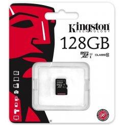 Фото Карта памяти Kingston microSDXC 128GB Class 10 UHS-I (без адаптера) (SDC10G2/128GBSP)