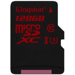 Фото Карта памяти Kingston microSDXC 128GB Class 10 UHS-I U3 (без адаптера) (SDCA3/128GBSP)