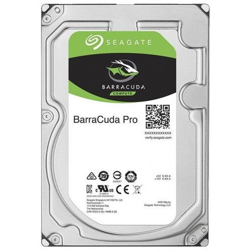 Фото Жесткий диск Seagate BarraCuda Pro 6TB 256MB 7200RPM 3.5'' (ST6000DM004)