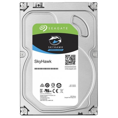Фото Жорсткий диск Seagate SkyHawk (Secure) 6TB 256MB 7200RPM 3.5'' (ST6000VX0023)