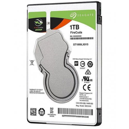 Фото Жесткий диск Seagate FireCuda (SSHD) 1TB 128MB 5400RPM 2.5'' (ST1000LX015)