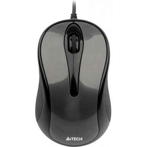 Фото Мышка A4Tech N-350-1 USB Glossy Grey