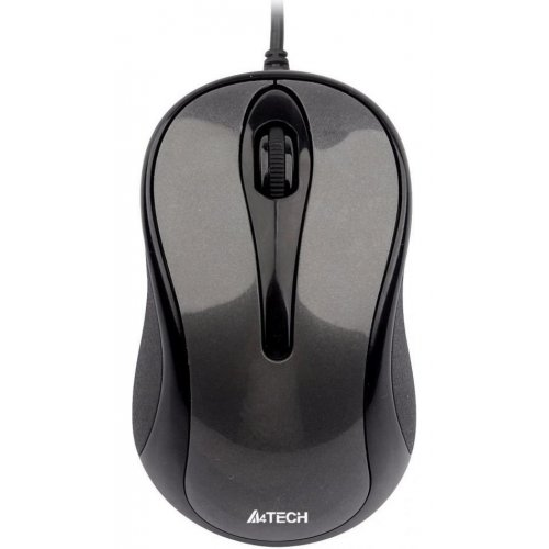Фото Мышка A4Tech N-360-1 USB Glossy Grey