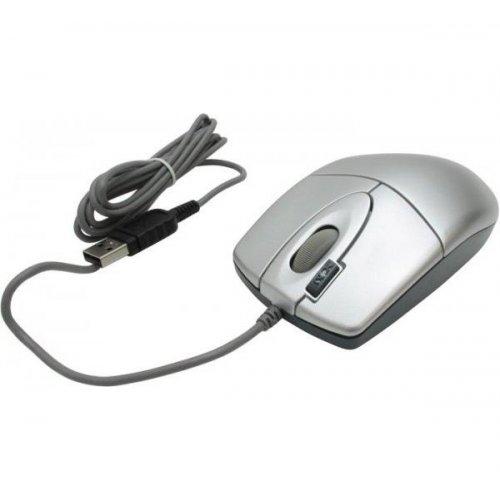 Фото Мышка A4Tech OP-620D USB Silver