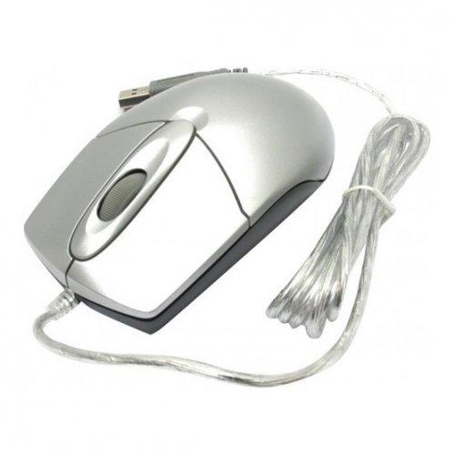 Фото Мышка A4Tech OP-720 USB Silver