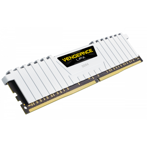 Фото ОЗУ Corsair DDR4 16GB (2x8GB) 3000Mhz Vengeance LPX (CMK16GX4M2B3000C15W) White