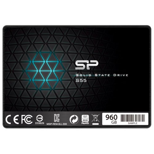 Фото SSD-диск Silicon Power Slim S55 960GB 2.5'' (SP960GBSS3S55S25)