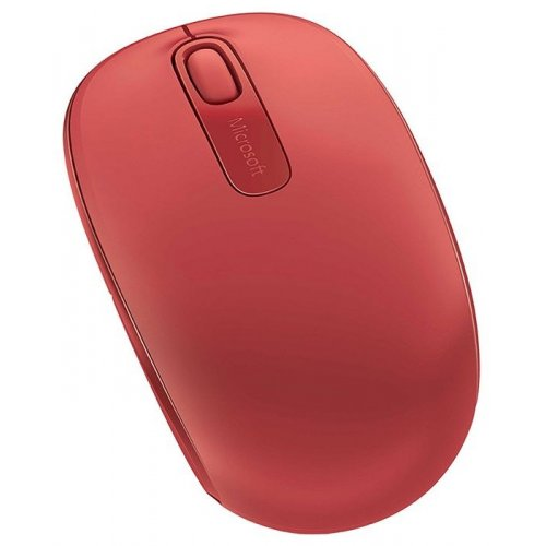 Фото Мышка Microsoft Wireless Mobile 1850 (U7Z-00034) Red