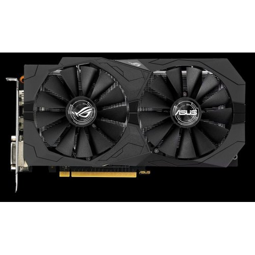 Фото Видеокарта Asus ROG GeForce GTX 1050 Ti STRIX 4096MB (STRIX-GTX1050Ti-4G-GAMING)