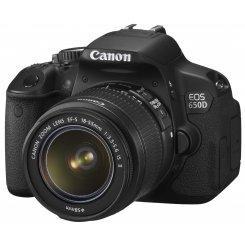 Фото Цифровые фотоаппараты Canon EOS 650D 18-55 IS II Kit (Официальная гарантия)