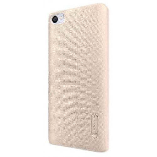 Фото Чехол Чехол Nillkin Frosted Shield для Meizu U10 Gold