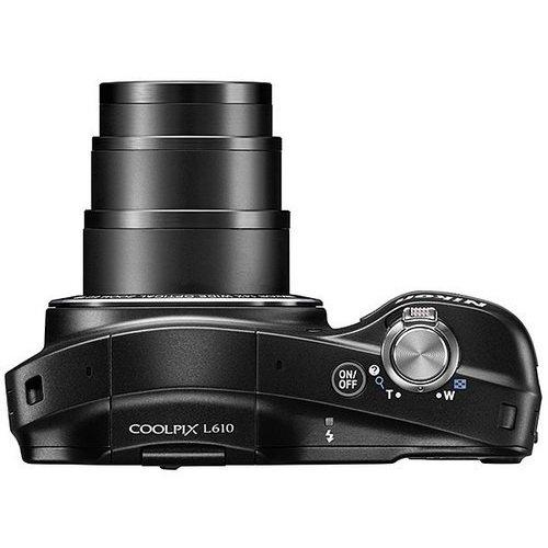 Фото Цифровые фотоаппараты Nikon Coolpix L610 Black