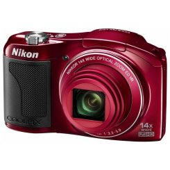Фото Цифровые фотоаппараты Nikon Coolpix L610 Red