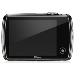 Фото Цифровые фотоаппараты Nikon Coolpix S01 Silver