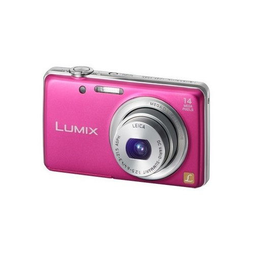 Фото Цифровые фотоаппараты Panasonic DMC-FS40EE-P Pink