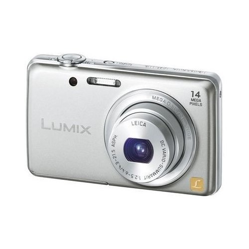 Фото Цифровые фотоаппараты Panasonic DMC-FS40EE-S Silver