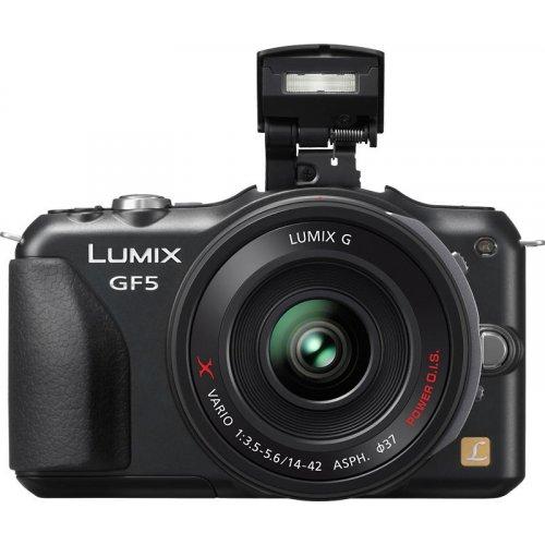 Фото Цифровые фотоаппараты Panasonic DMC-GF5XEE-K 14-42 Kit