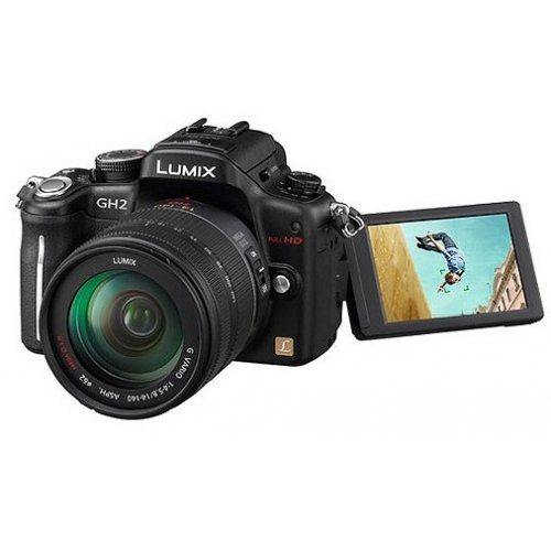 Фото Цифровые фотоаппараты Panasonic DMC-GH2HEE-K 14-140 Kit
