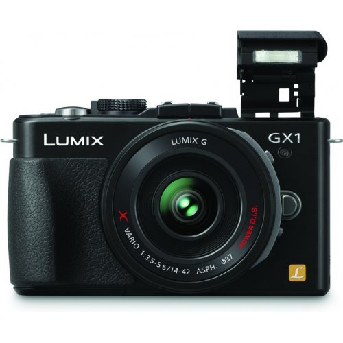 Фото Цифровые фотоаппараты Panasonic DMC-GX1XEE-K 14-42 Kit