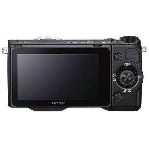 Фото Цифровые фотоаппараты Sony NEX-5RK 18-55 Kit Black
