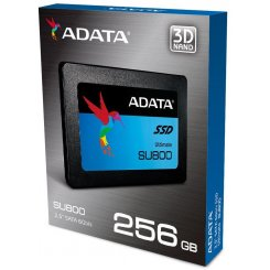 Фото SSD-диск ADATA Ultimate SU800 TLC 256GB 2.5'' (ASU800SS-256GT-C)