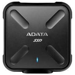 Фото SSD-диск ADATA SD700 256GB Black USB 3.1 (ASD700-256GU3-CBK) Black