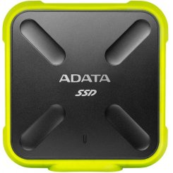 Фото SSD-диск ADATA SD700 256GB Yellow USB 3.1 (ASD700-256GU3-CYL) Yellow