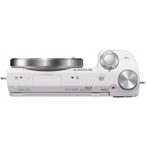 Фото Цифровые фотоаппараты Sony NEX-5RK 18-55 Kit White