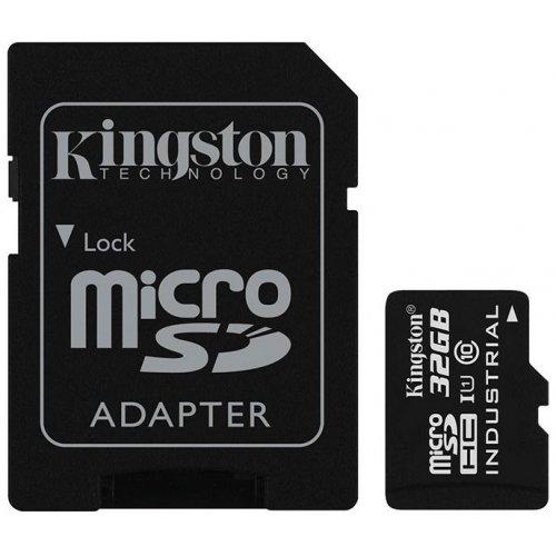 Фото Карта памяти Kingston microSDHC 32GB Class 10 UHS-I (с адаптером) (SDCIT/32GB)