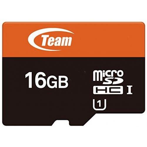 Фото Карта памяти Team microSDHC 16GВ Сlass 10 UHS-1 (с адаптером) (TUSDH16GUHS03)