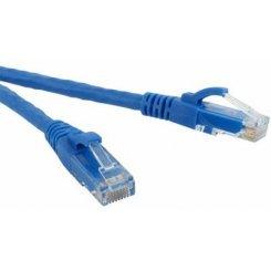 Фото Патч-корд ATcom UTP, RJ45, Cat5e 0,5m (4961) Blue