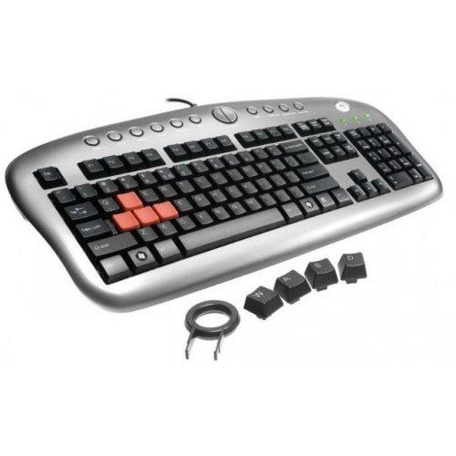 Фото Клавиатура A4Tech KB-28G USB Silver-Black