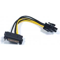 Фото Переходник питания T-Cable Sata to ATX 6pin 0,15m