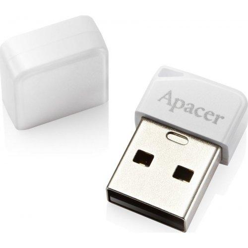 Фото Накопитель Apacer AH114 8GB USB 2.0 White (AP8GAH114W-1)