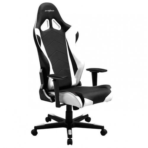 Фото Игровое кресло DXRacer Racing (OH/RЕ0/N) Black/White