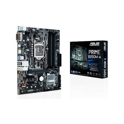 Фото Материнская плата Asus PRIME B250M-A (s1151, Intel B250)
