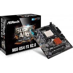 Фото Материнская плата AsRock N68-GS4 FX R2.0 (sAM3+, Nvidia GF7020)