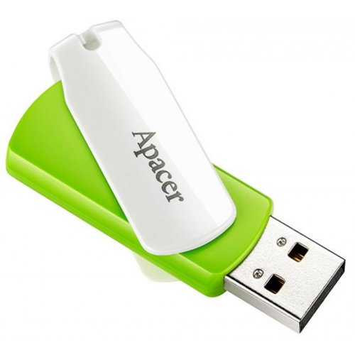 Фото Накопитель Apacer AH335 32GB USB 2.0 Green (AP32GAH335G-1)
