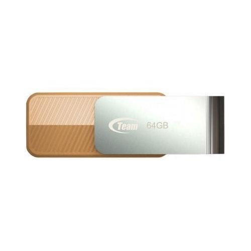 Фото Накопитель Team C143 64GB USB 3.0 Brown (TC143364GN01)