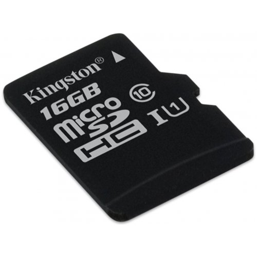 Фото Карта памяти Kingston microSDHC Industrial 16GB Class 10 UHS-I (без адаптера) (SDCIT/16GBSP)