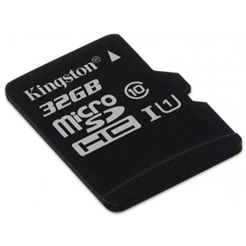 Фото Карта памяти Kingston microSDHC Industrial 32GB Class 10 UHS-I (без адаптера) (SDCIT/32GBSP)
