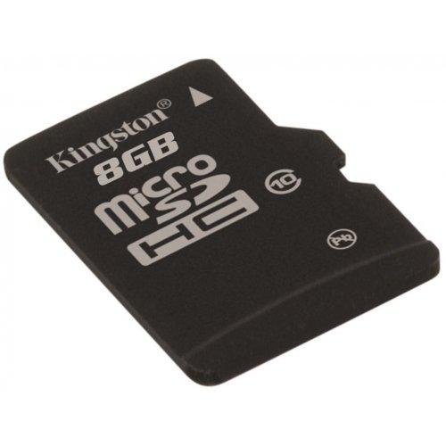 Фото Карта памяти Kingston microSDHC 8GB Class 10 UHS-I (без адаптера) (SDCIT/8GBSP)