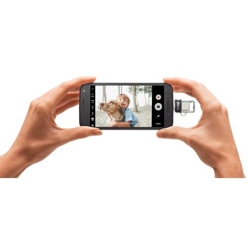 Фото Накопитель SanDisk Ultra Dual 128GB USB 3.1/OTG Black (SDDD3-128G-G46)