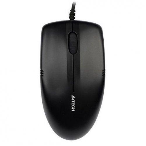 Фото Мышка A4Tech OP-530NU USB Black